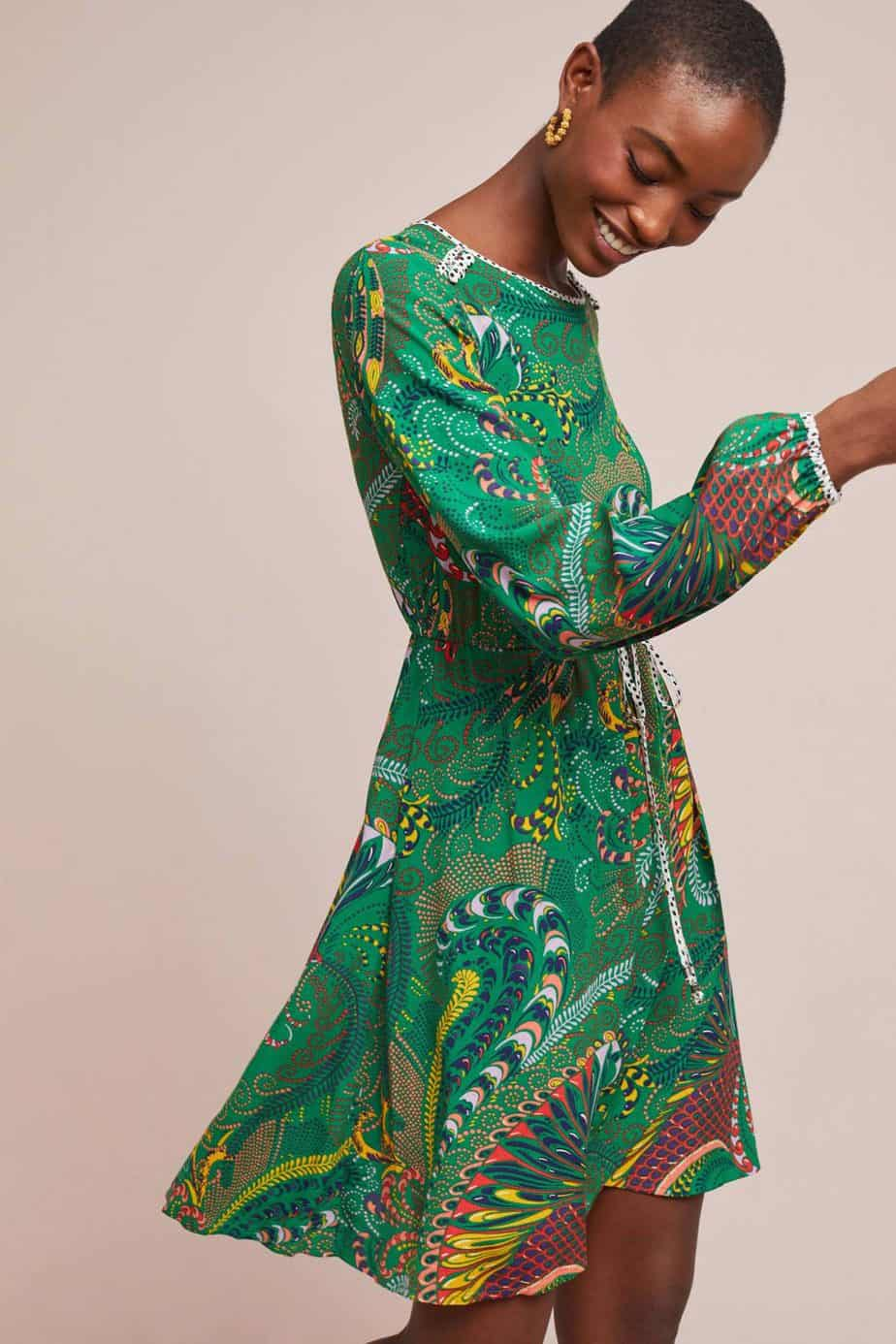 ANTHROPOLOGIE. מחיר שמלה: 599.90 שקל. צילום: יח״צ חו״ל