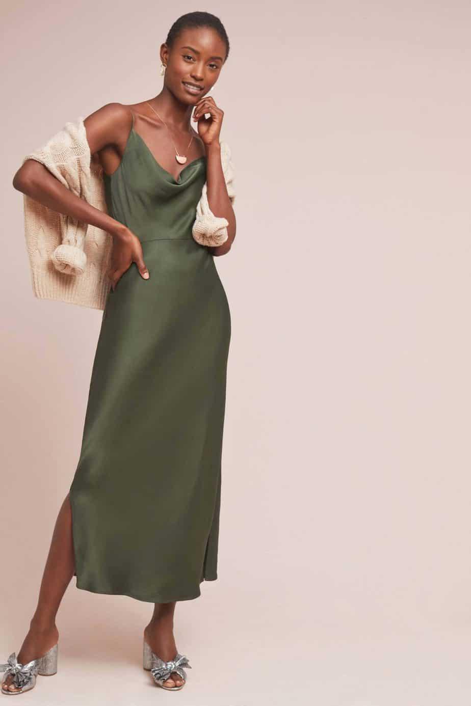 ANTHROPOLOGIE. מחיר שמלה: 439.90 שקל. צילום: יח״צ חו״ל