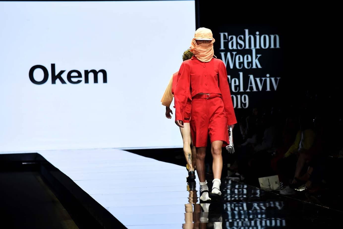 OKEM. חממת מפעל הפיס. שבוע האופנה תל אביב 2019. צילום: לימור יערי
