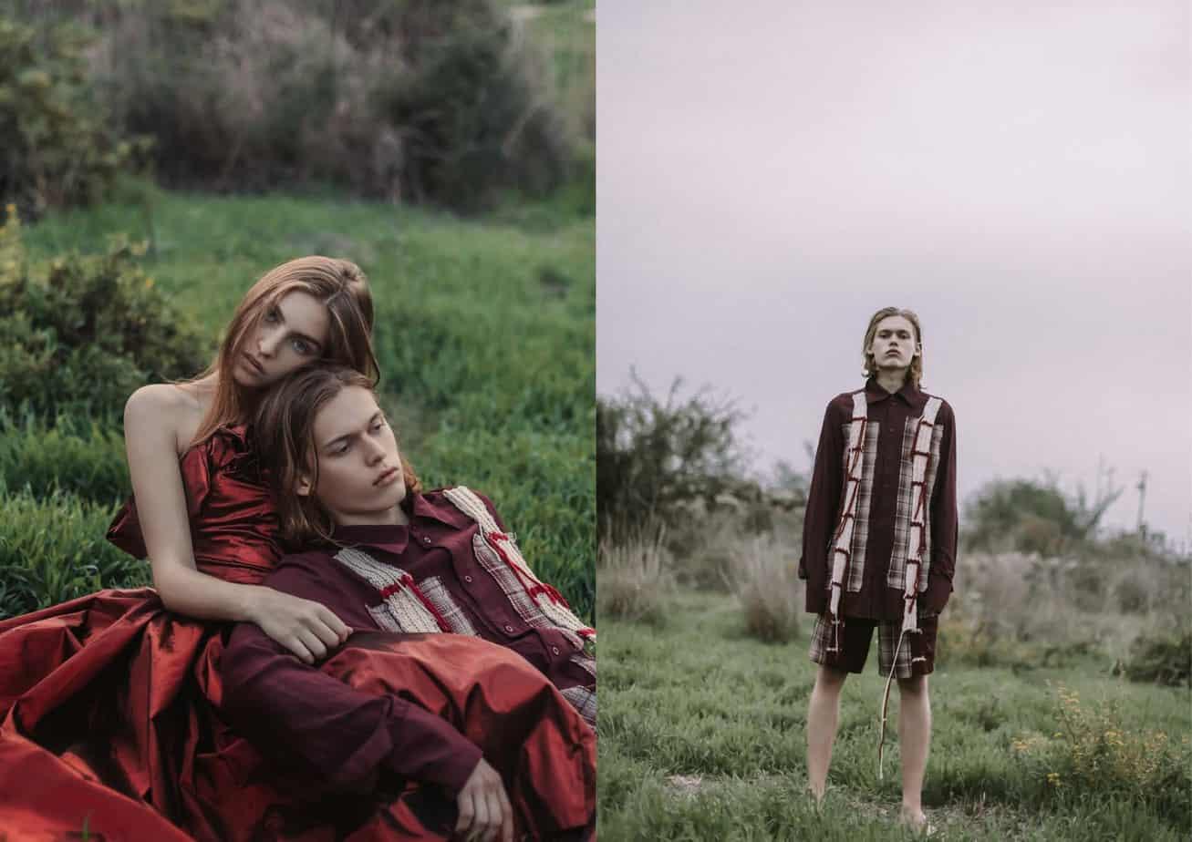 הפקת אופנה: צילום וסטיילינג: Angie Shirelle, איפור, שיער וסטיילינג: אורטל דדון, עיצוב אופנה: יובל רביד, חליפה אדומה: נעה רוזנטל, דוגמנים: ANTON MISHANIN לסוכנות ״בריק מודלס״, מאיה פלד ל-A LIST MODELS, סתיו בן יואל ל״רוברטו״-41