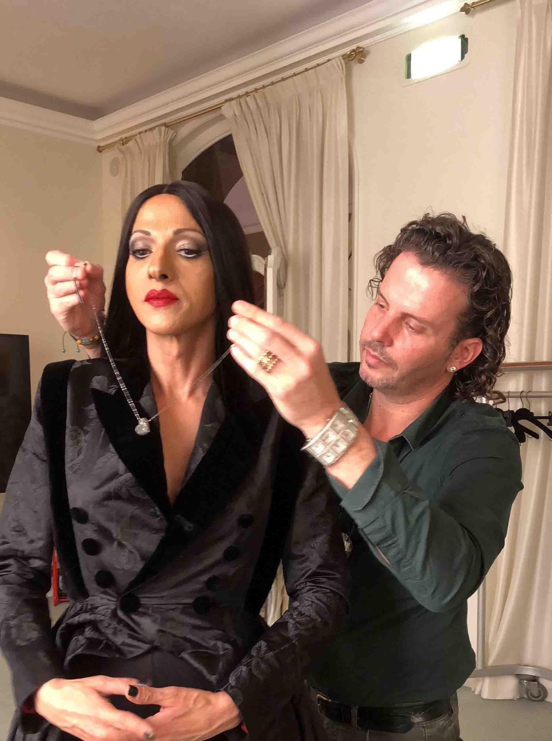 אירוויזיון 2019 גיל נויהאוס עם דנה אינטרנשיונל, צילום יחצ - 1