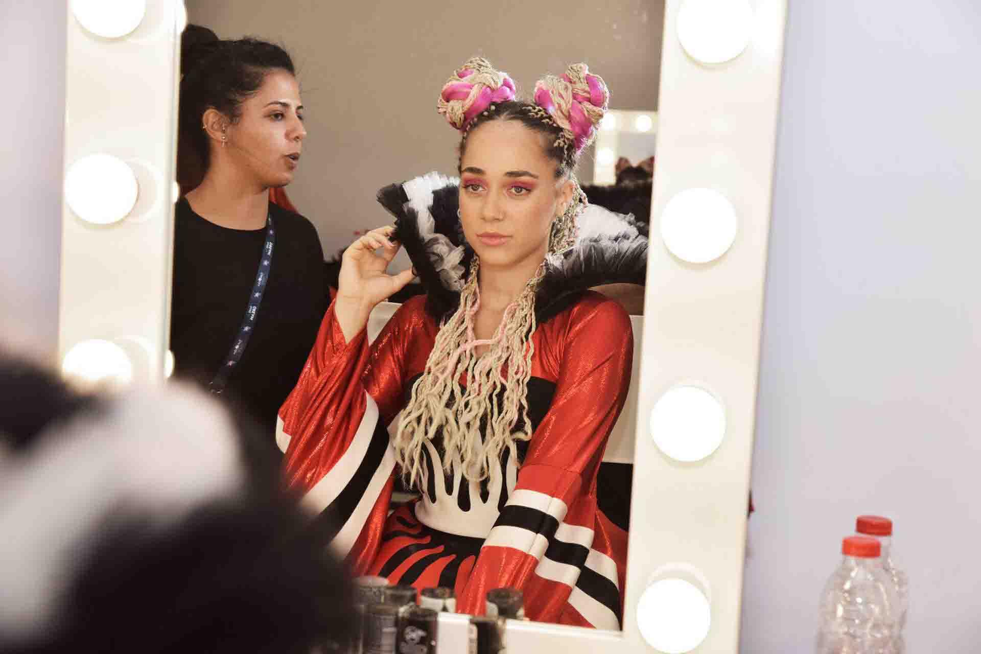 אירוויזיון 2019 לוקים האיפור של רבלון וגילי אלגבי. צילום אוריאל ודניאל פחימה - 26