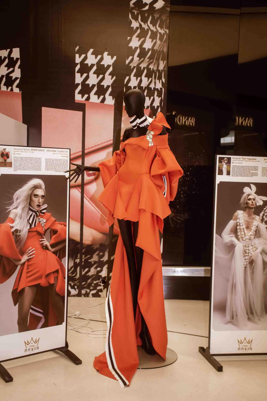 אירוויזיון 2019, תערוכת השמלה המנצחת, צילום Morgan Jamie - 1821