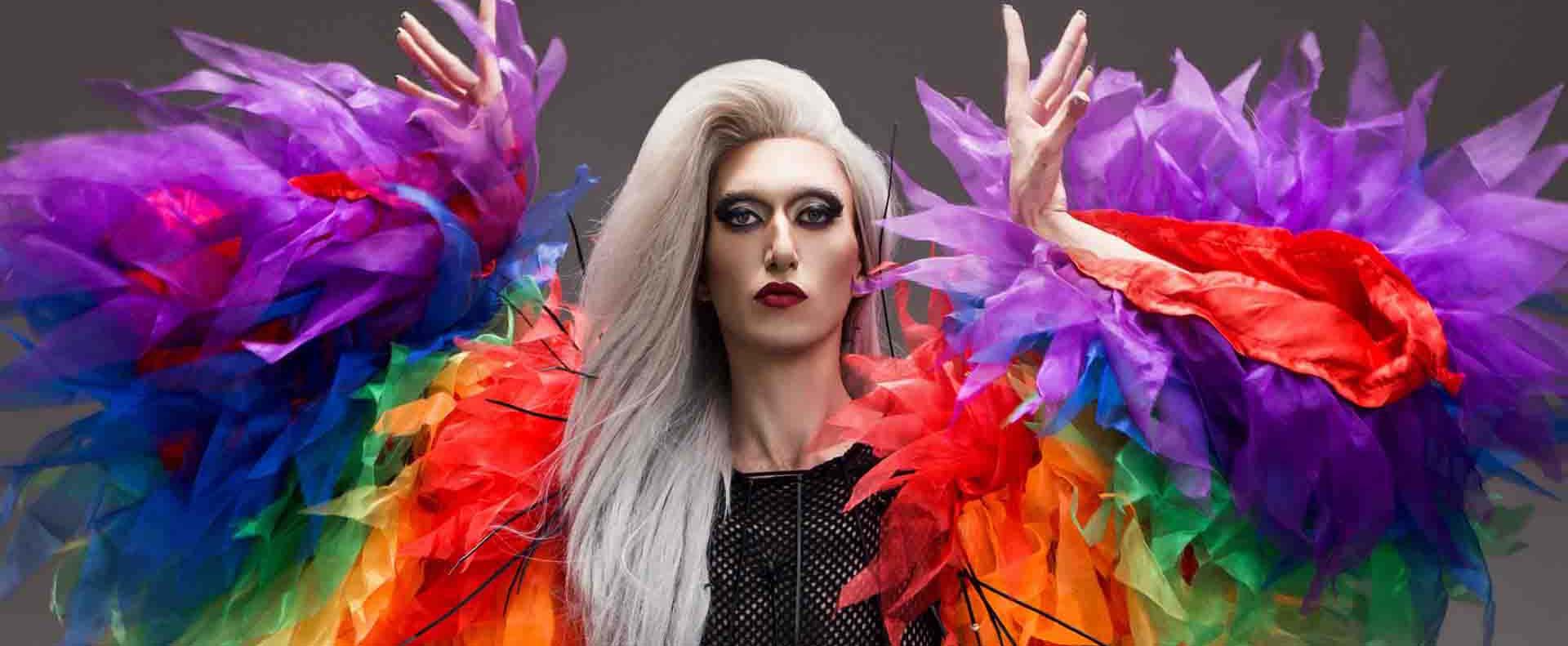 אירוויזיון 2019, קיי לונג בהשראת דנה אינרנשיונל השיר דיווה צלם ניר סלקמן