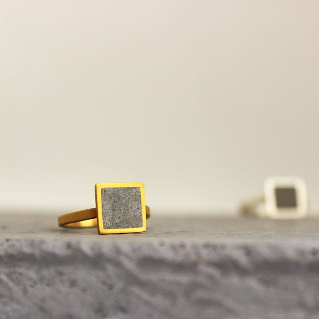 Rectangles-Adjustable-Concrete-Ring-in-Gold-by-BAARA-Jewelry1 8.18.4033