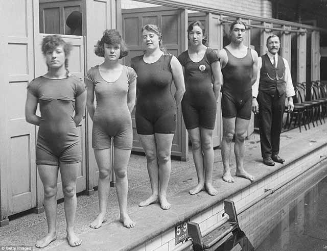 בגדי ים נשים 1910