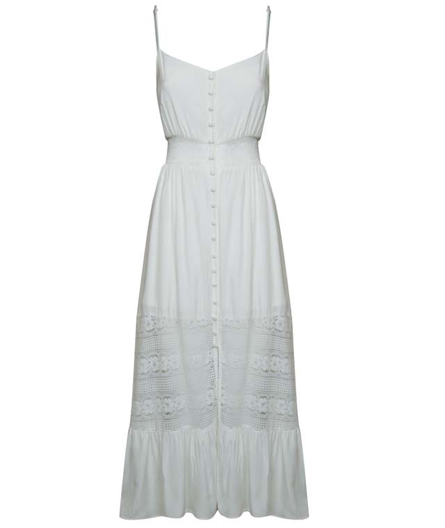שמלה לבנה של רנואר אביב קיץ 2019 199.90שח צילום אלעד חיזקי