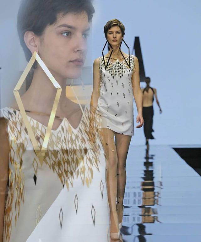 שמלה של שאדי עבד. צילום: יח״צ