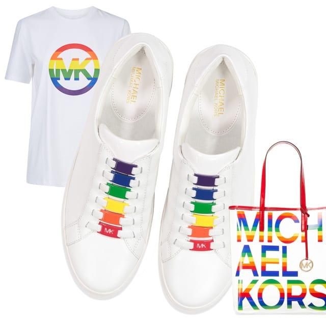 נעליים תיק וחולצת גאווה MICHAEL KORS. להשיג בפקטורי 54.(7)
