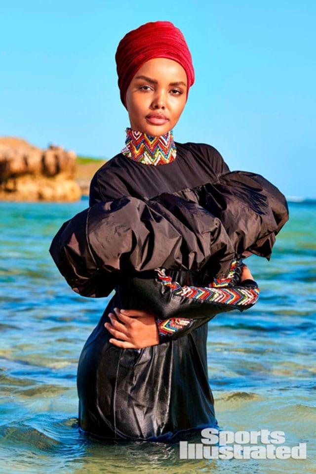חלימה עדן בבורקיני, על גיליון בגדי הים של אחד המגזינים הנחשבים בעולם, SPORT ILLUSTRATED.-2