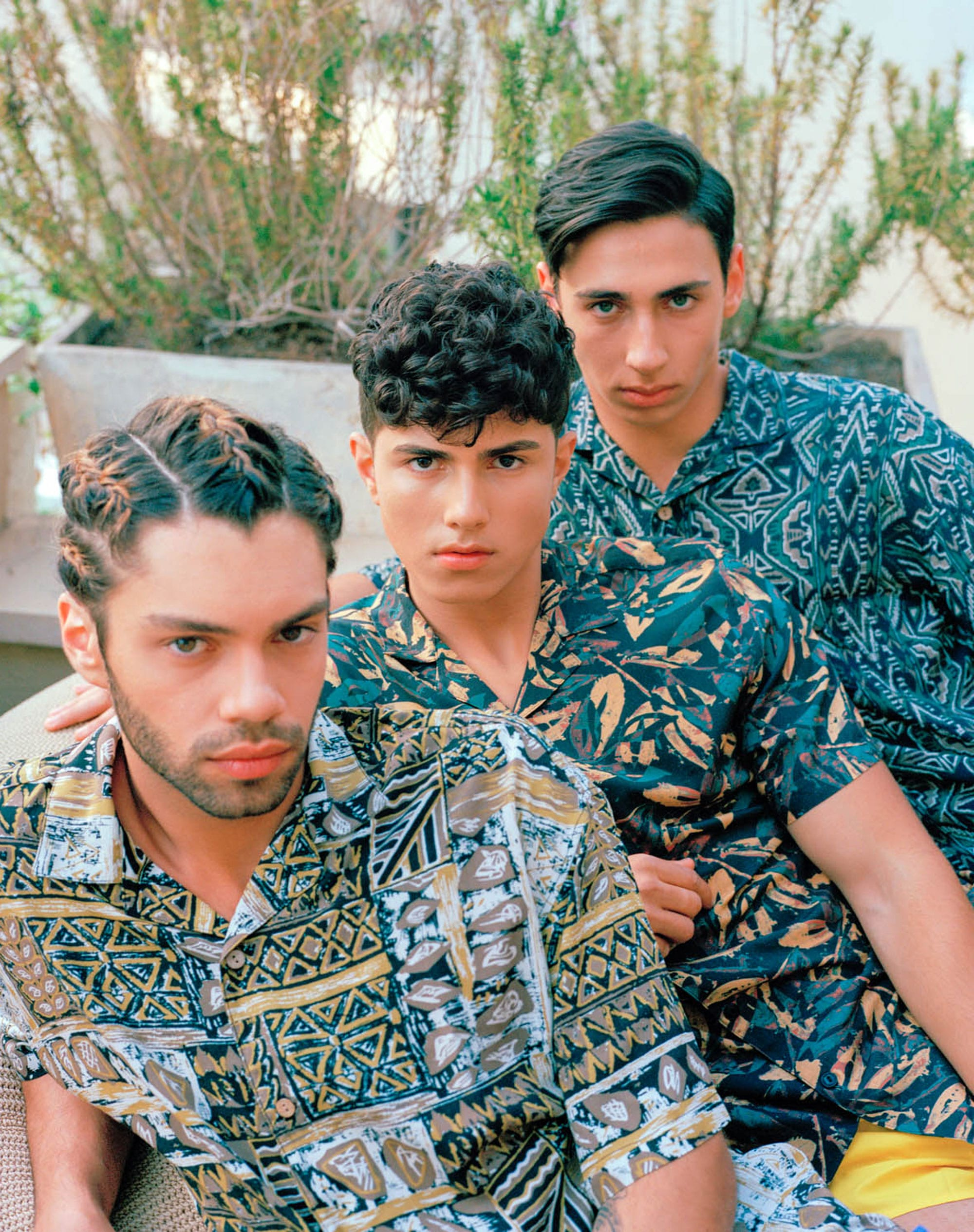 Shirts: pull&bear, Short: Renuar Photographer: Angel Chai Arviv, Styling: Tal Bouhinin, Makeup Artist: Iris Hatzavin, Esther Shitrite, Hair Stylist: Lior Krispekin, Models: Ariel Shuliain, Amir Netzerin, Or Dvirin for Passion Management -15
