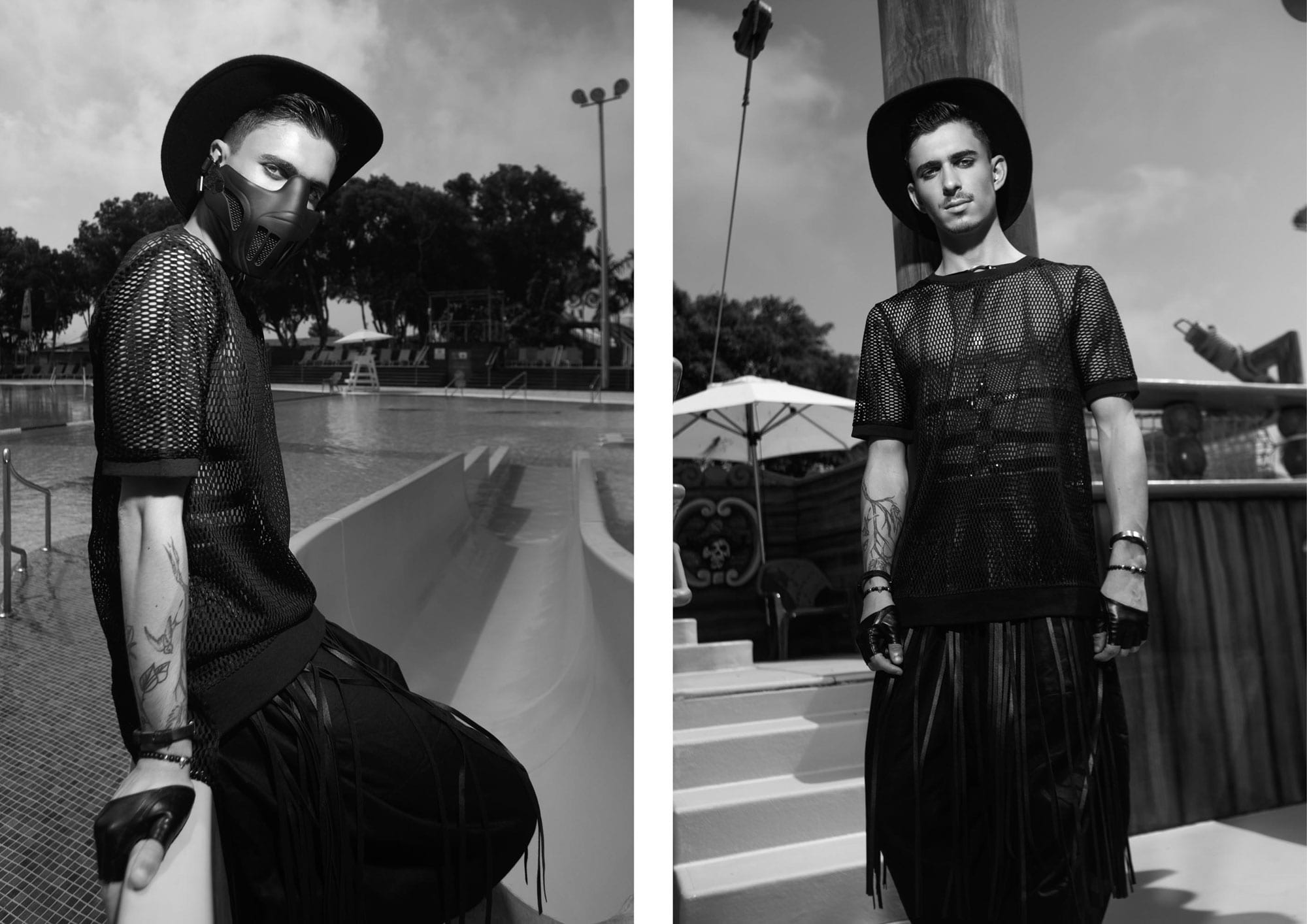 Photography: Segev Orlev Styling: Mauricio Arcillo, Fashion: Aarketa, Makeup Artist: Orna Rimok, Hair Stylist: Elad Uziel, Hair & Makeup: lior krispel, Models: Sami Dadon, Yinon Perets, Ldor Bar Or, Yaniv Putterman, Producer: Orna Rviztky for Fashion Israel, Pr: Rotem Lalush15