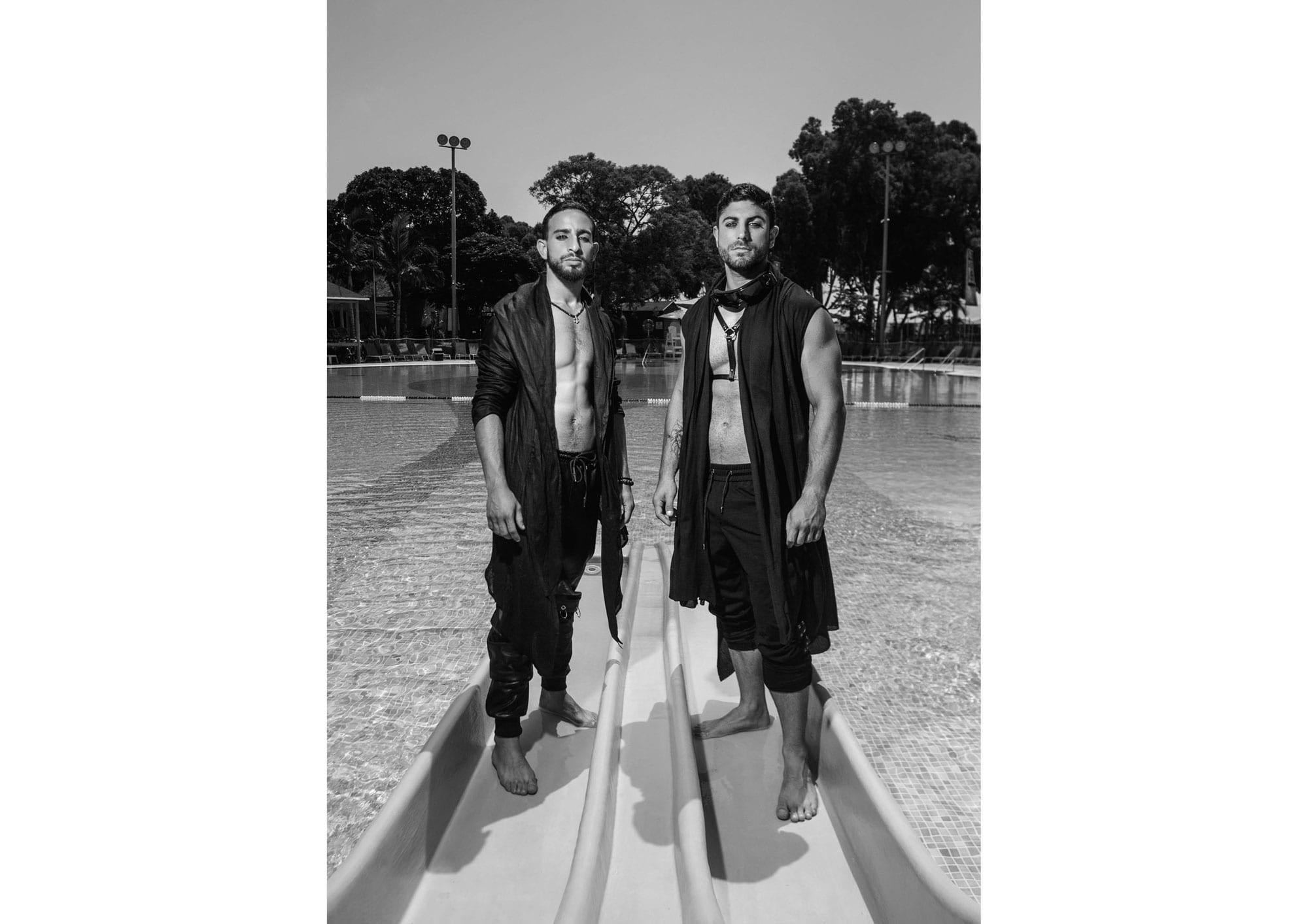 Photography: Segev Orlev Styling: Mauricio Arcillo, Fashion: Aarketa, Makeup Artist: Orna Rimok, Hair Stylist: Elad Uziel, Hair & Makeup: lior krispel, Models: Sami Dadon, Yinon Perets, Ldor Bar Or, Yaniv Putterman, Producer: Orna Rviztky for Fashion Israel, Pr: Rotem Lalush11