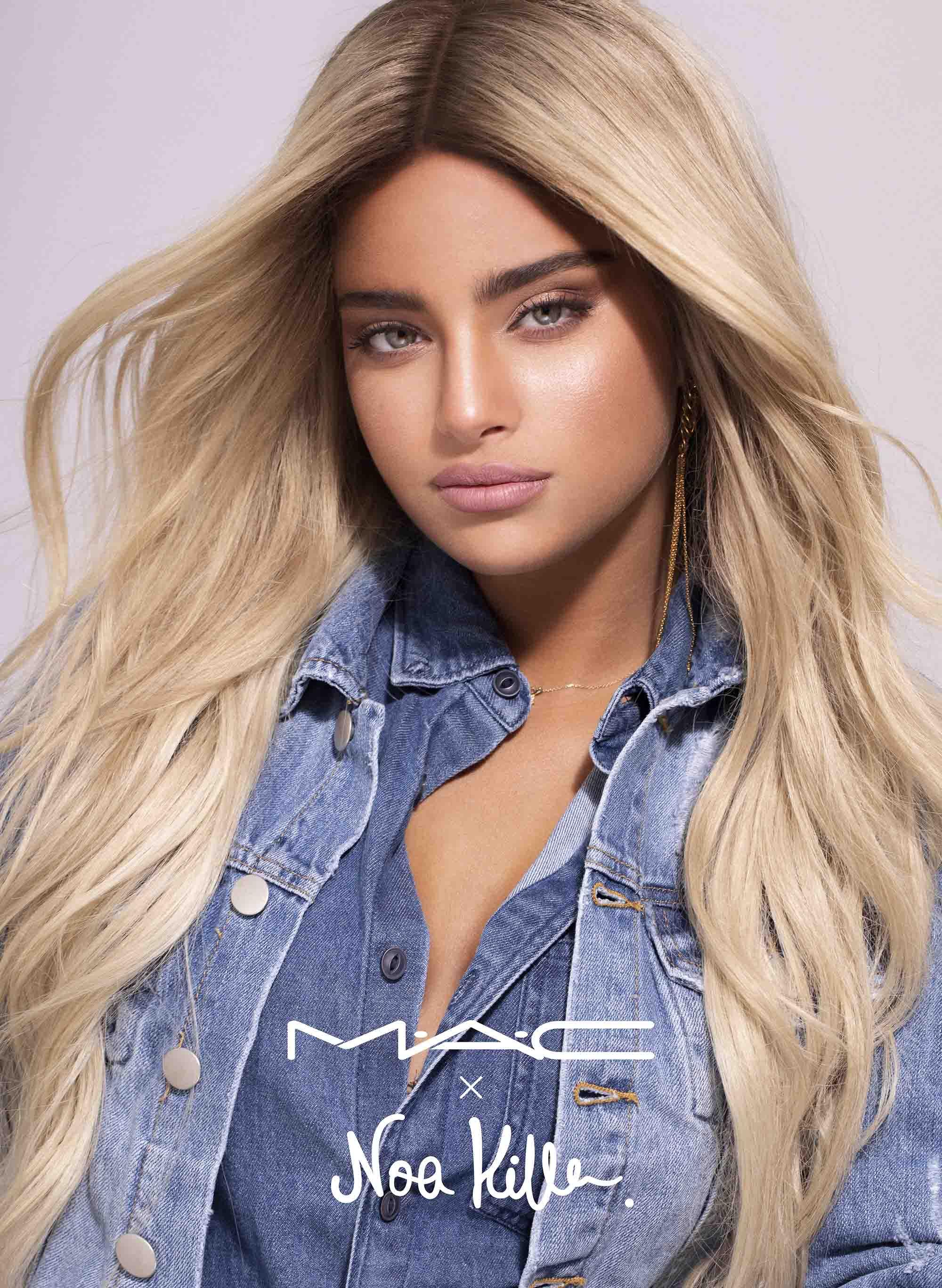 נועה קירל, איפור, אופנה, לסדרת האיפור של מאק צילום - איילת ארד1