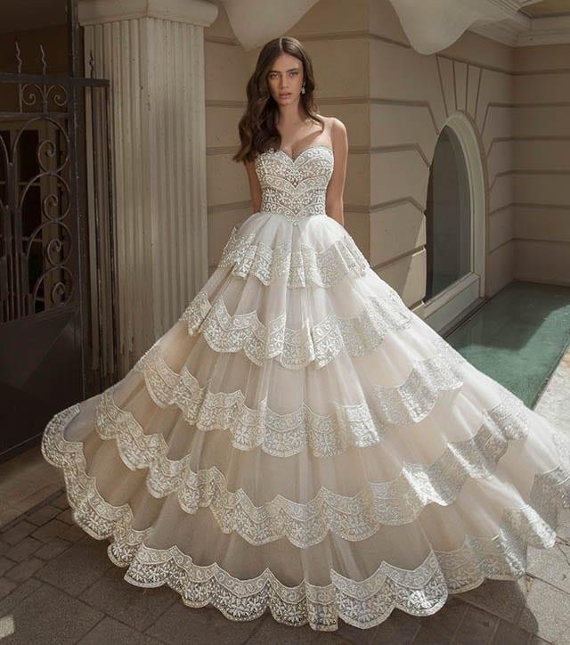 אופנה, Fashion Israel, שמלת כלה של המעצב עובד כהן צילום דביר כחלון