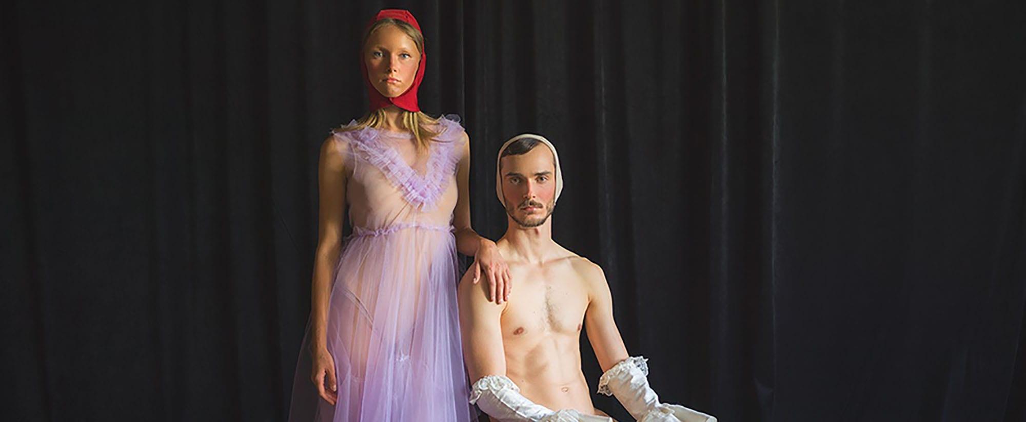 Fashion Israel, מגזין אופנה, אופנה, איפור, שקיפות ועירום, איפור ירין שחף, - צילום מיכל חלבין