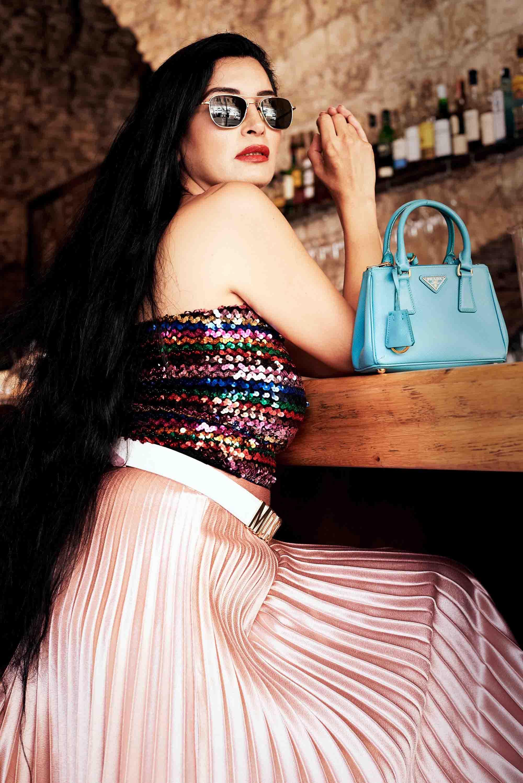 אופנה, תיק PRADA סטיילינג סאלי שוק הפשפשים צילום Kim kandler