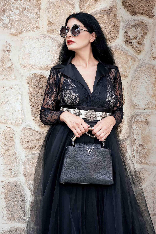 אופנה, תיק versace סטיילינג סאלי שוק הפשפשים צילום Kim kandler -