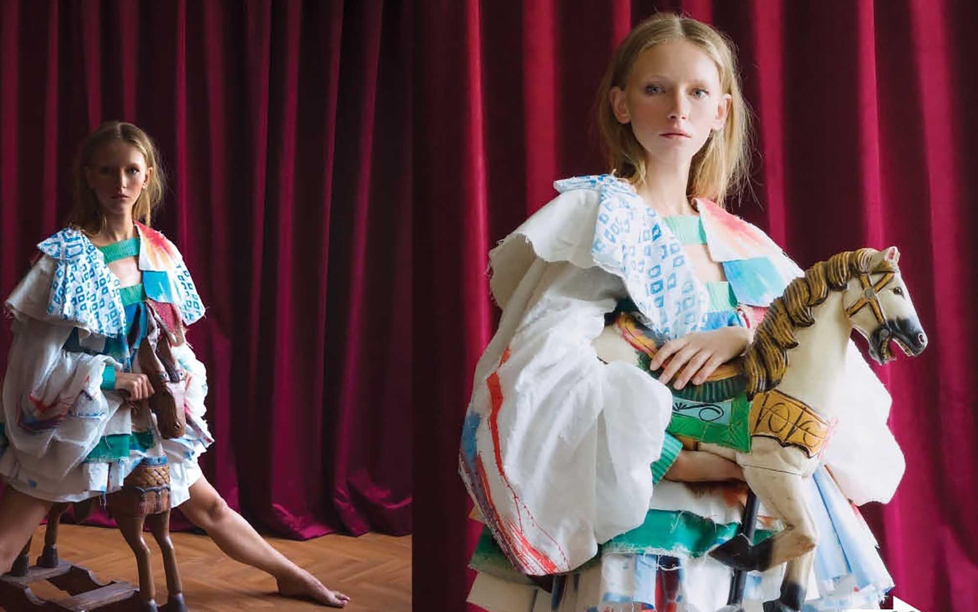 מגזין אופנה, אופנה, איפור, טרנד של תמימות וילדות מתוקה . צילום יחצ