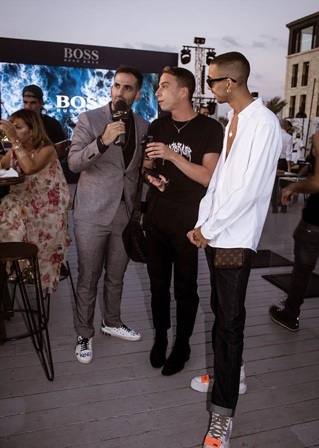 טום באום, מכנסיים: ולנטינו, חולצה: דיזל. צילום: Morgan Jamie - Fashion Israel - 2020 חדשות אופנה 2020, כתבות אופנה 2020, טרנדים 2020, מגזין אופנה ישראלי, אופנה -