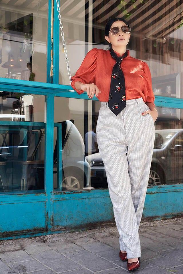Fashion Israel - 2020 חדשות אופנה, כתבות אופנה 2020, טרנדים, מגזין אופנה, אופנה - חולצה ומכנסים buy kilo צילום kim kandler