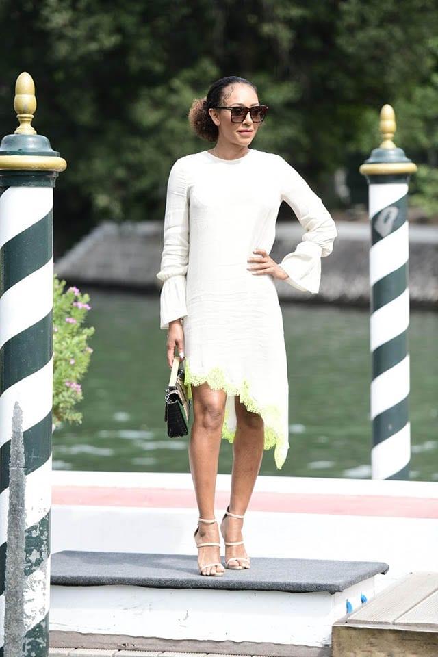 מלאני בי בשמלה של מנילה גרייס לרשת האופנה סיליז צילום יחצ חול מאושר לשימושFashion Israel - חדשות אופנה, כתבות אופנה, טרנדים, מגזין אופנה, אופנה -