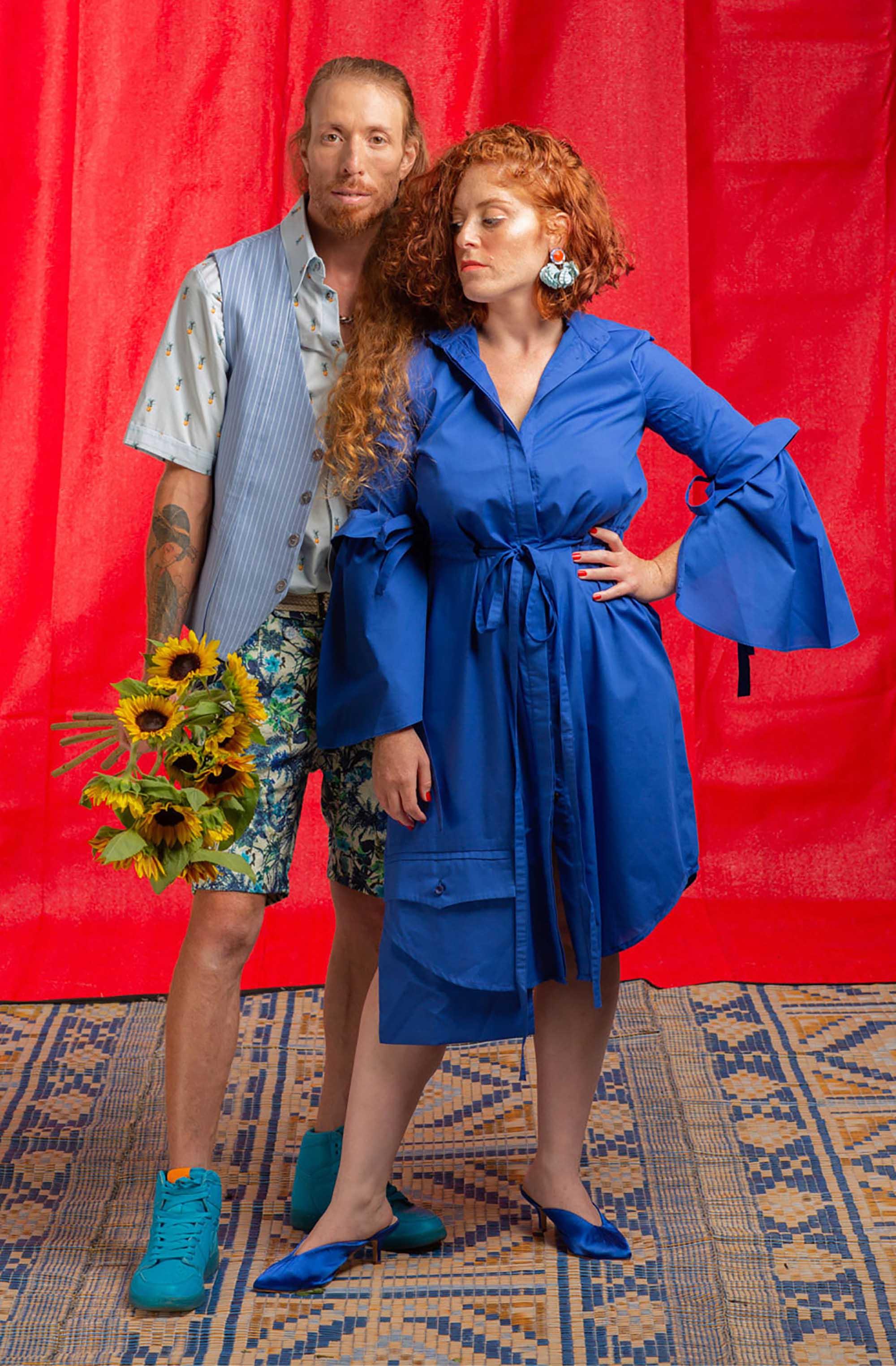 מפיק וצלם: נמרוד בר-און, סטיילינג: כרמן ברזיל, הודיה פיינגולד, איפור ועיצוב שיער: צופית ליבמן, דוגמנים: רונה שגב, איציק פרדו, עוזר צלם: שי בראל8 - 2020 חדשות אופנה 2020, כתבות אופנה 2020, טרנדים 2020, מגזין אופנה ישראלי, אופנה, Fashion Israel