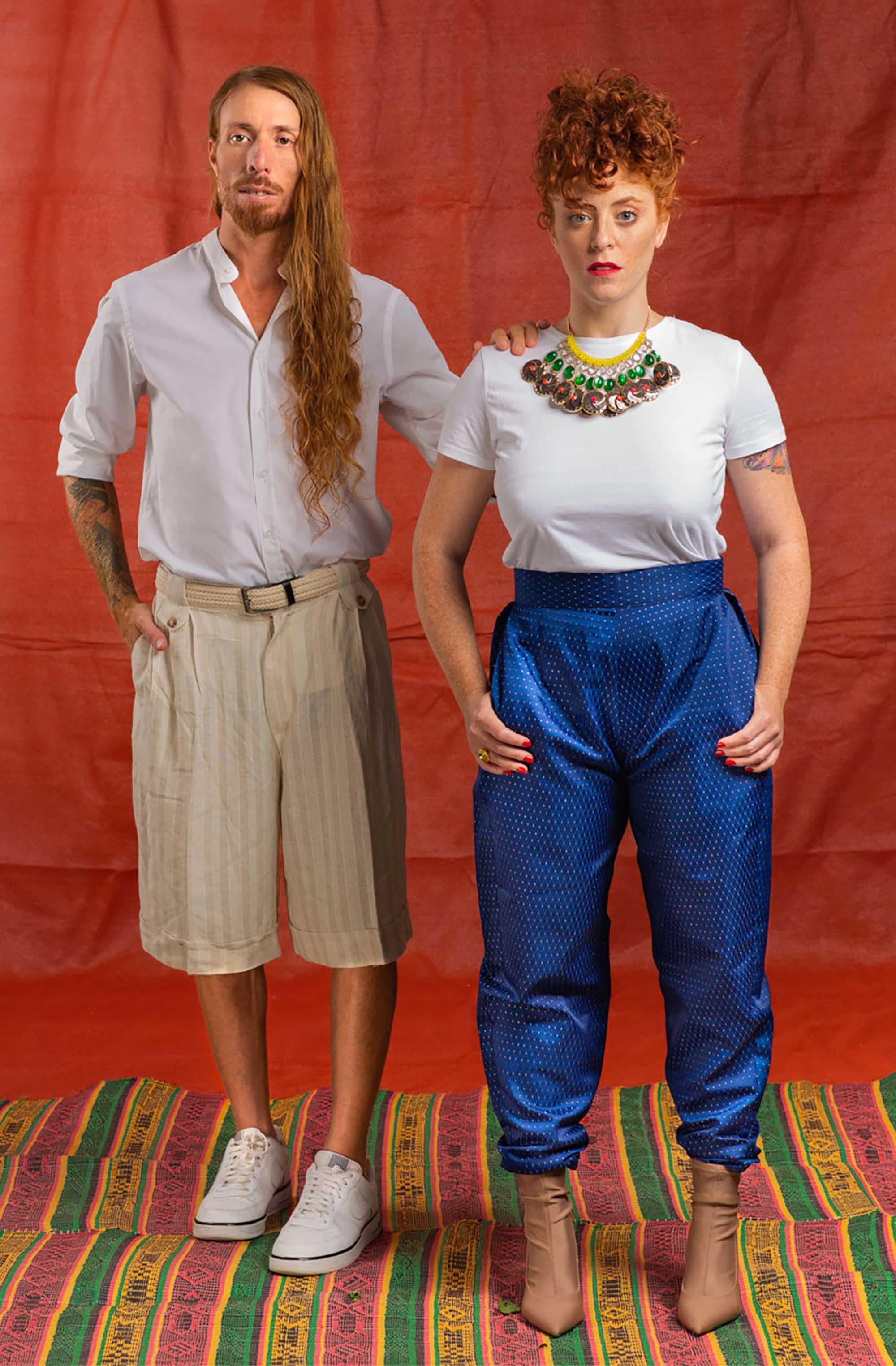 מפיק וצלם: נמרוד בר-און, סטיילינג: כרמן ברזיל, הודיה פיינגולד, איפור ועיצוב שיער: צופית ליבמן, דוגמנים: רונה שגב, איציק פרדו, עוזר צלם: שי בראל6 - 2020 חדשות אופנה 2020, כתבות אופנה 2020, טרנדים 2020, מגזין אופנה ישראלי, אופנה, Fashion Israel