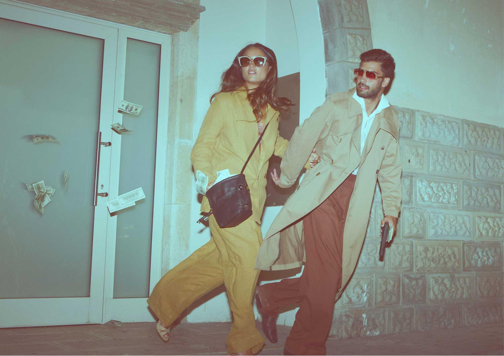 יובל - חולצה H&M, מכנסיים: Cos, גקט ונעליים: zara, משקפיים: celine. שאניה - חליפה: H&M, נעליים: mango, משקפיים Prada סטיילינג: אייל חג'בי, צילום: ניל כהן - בית ספר לצילום, רון קדמי, דוגמנים: יובל ביטון - סוכנות ״אלינור שחר״, שאניה הדר - סוכנות Passion Management, איפור: דלית לוי, עיצוב שיער: מירב אבן צור2- 2020 חדשות אופנה 2020, כתבות אופנה 2020, טרנדים 2020, מגזין אופנה ישראלי, אופנה, Fashion Israel