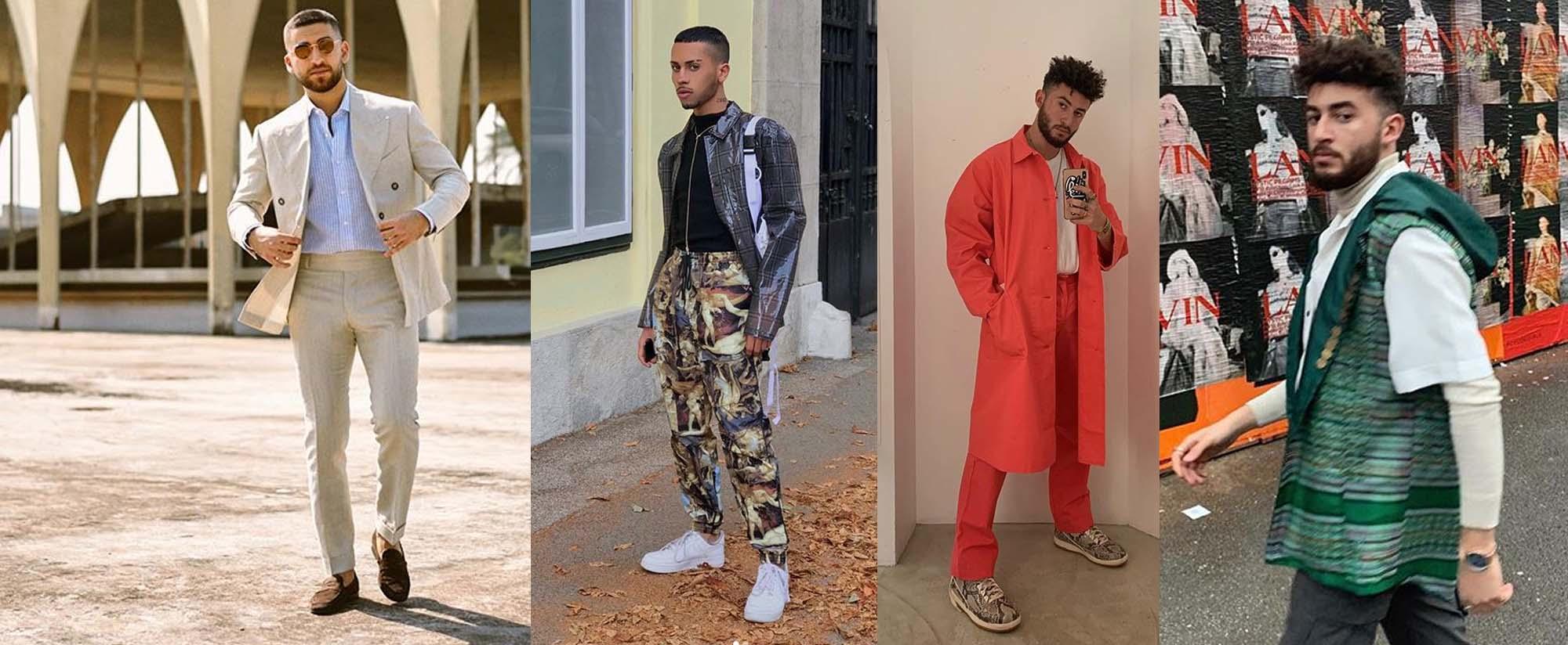 אופנת גברים ערבים. צילומים: אינסטגרם