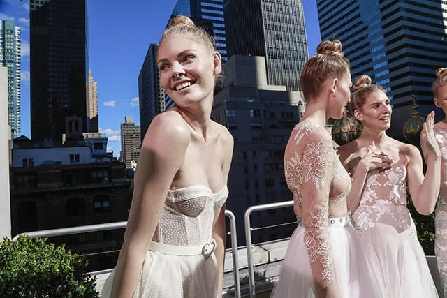 APRIL 2019 New York Bridal Fashion Week, אופנה, אופנת גברים, Fashion Israel, חדשות אופנה, כתבות אופנה, טרנדים, FASHION MAGAZINE, מגזין אופנה ישראלי -