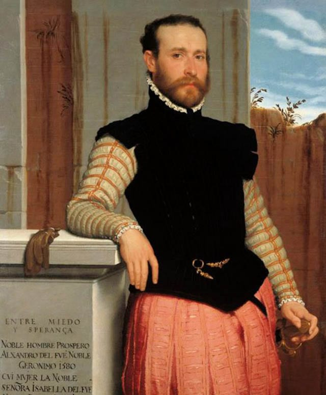 אופנה, fashion, מגזין אופנה, fashion magazine, טרנדים - דיוקן פרוספרו אלסנדרי, מאת הצייר ג'ובאני בטיסטה מורוני, 1560. צילום: פינטרסט