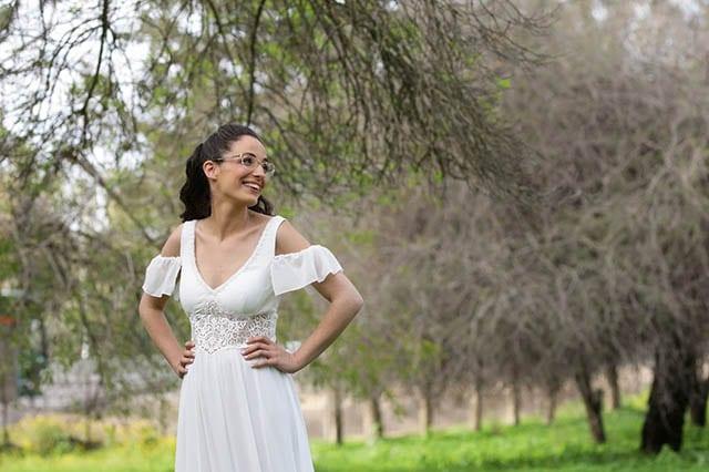 שמלת כלה אקולוגית , בהדרה עדי - 12