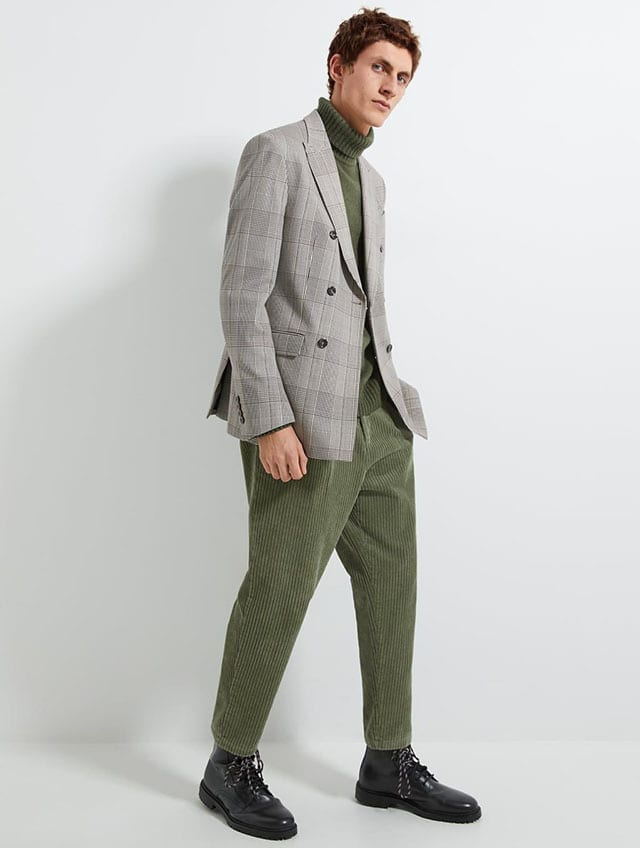 '80S CORDUROY CHINO TROUSERS-NEW IN-MAN _ ZARA Israel (1)