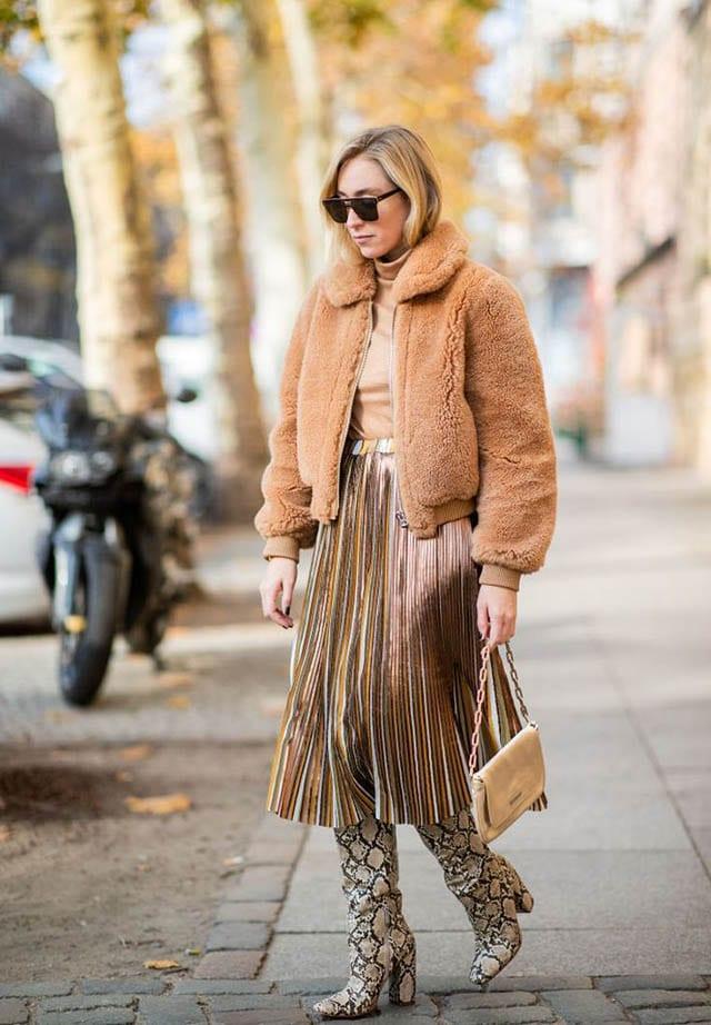 אופנה, 23 Classy Faux Fur Coat Outfits to Wear When It Gets Cold Out