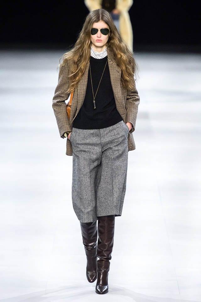 טרנדים 2020, Celine Fall 2019 Ready-to-Wear Fashion Show
