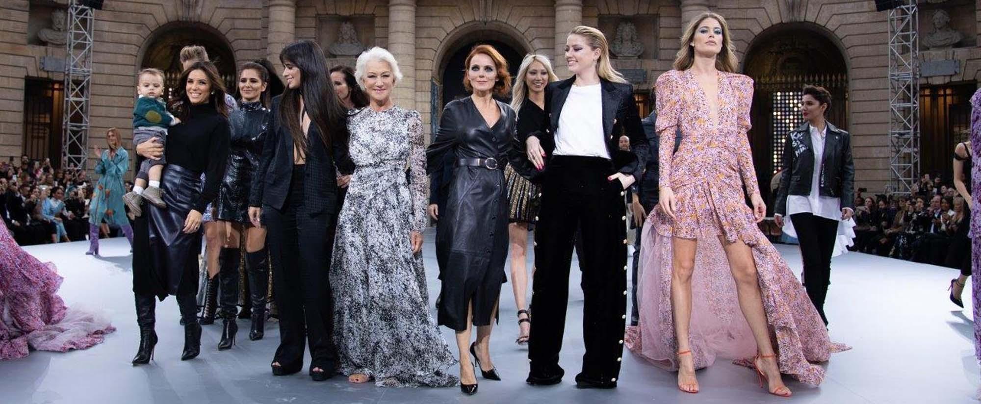 דוברות לוריאל פריז בשבוע האופנה בתצוגה של לוריאל פריז צילום: GIOVANNI GIANNONI - 11, אופנה 2020, Fashion Israel, חדשות אופנה 2020, כתבות אופנה 2020, טרנדים 2020, מגזין אופנה ישראלי -