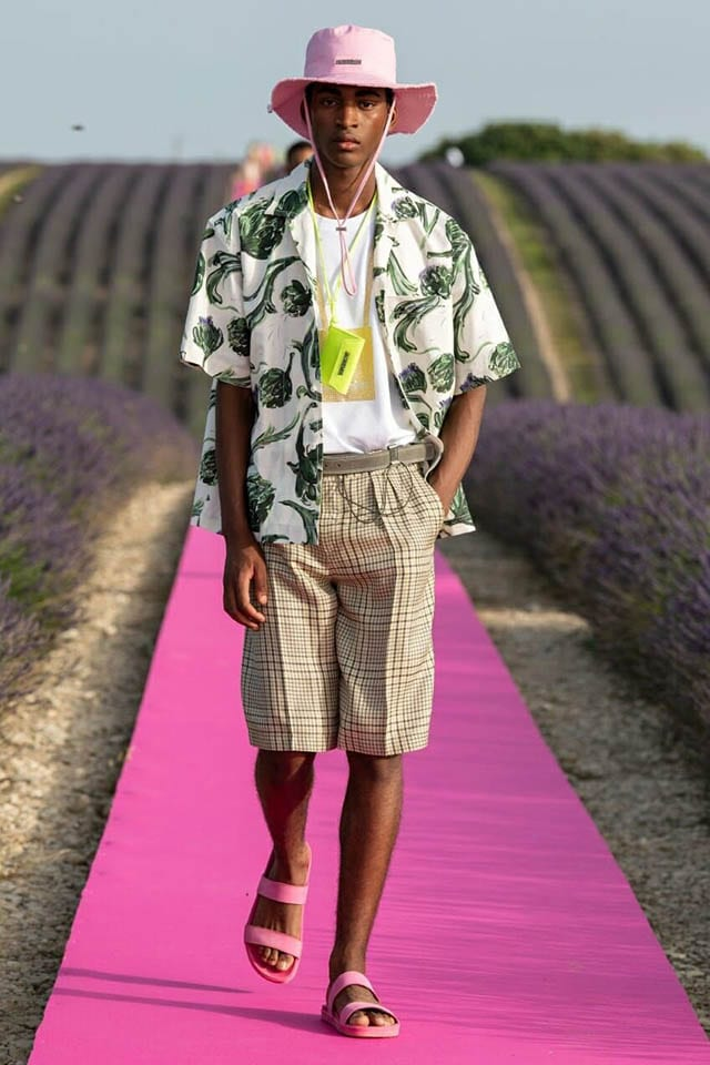 Jacquemus' Spring 2020 Collection Is JUST the Whiff of Lavender I Needed - Man Repeller