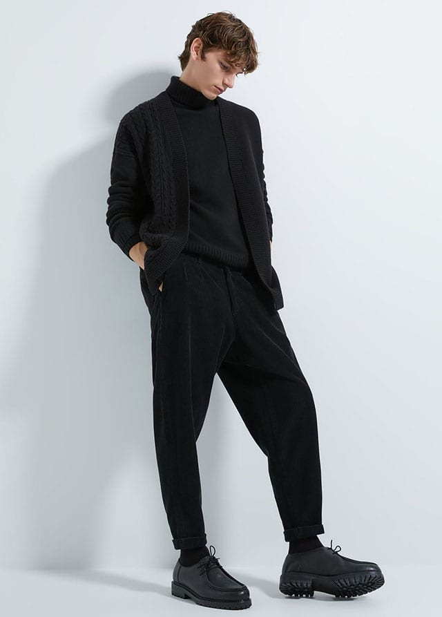 LOOSE-FIT CORDUROY TROUSERS-NEW IN-MAN _ ZARA Israel