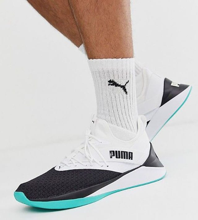 Puma Training jaab trainers in white at ASOS_ Shop this season's must haves with multiple delivery and return options (Ts&Cs apply) סניקרס Puma. צילום: פינטרסט