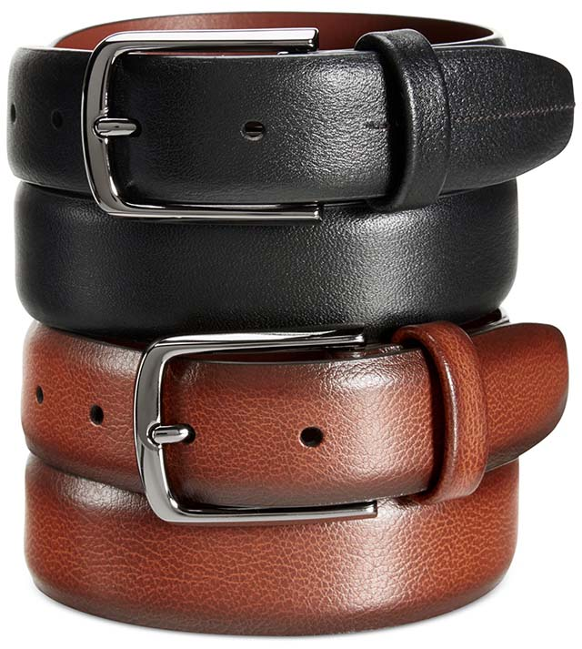 Wear this handsome belt from Perry Ellis with any casual outfit to add a touch of sophistication_