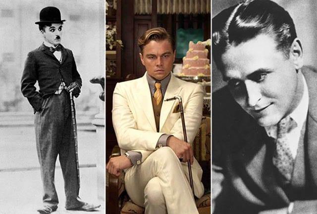 אופנה, fashion, מגזין אופנה, fashion magazine, טרנדים - חליפה גברית שנות העשרים. צילום: פינטרסט