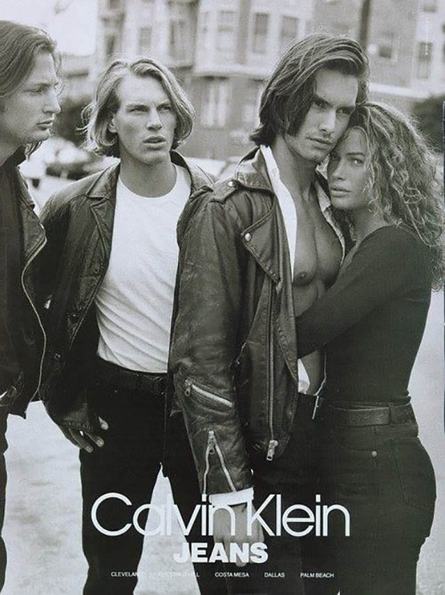 marcus and carre for calvin klein 1991