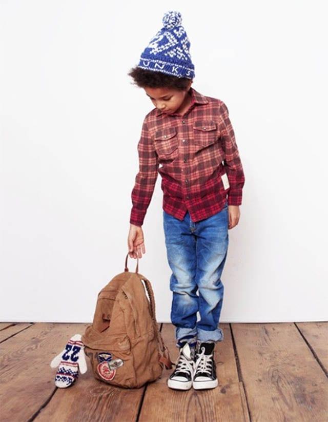 מגזין אופנה, בגדי ילדים, כתבות אופנה