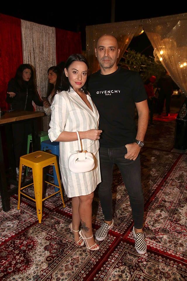 מאיה בוסקילה ועוזי אזולאי, צילום: Morgan Jamie, חדשות האופנה