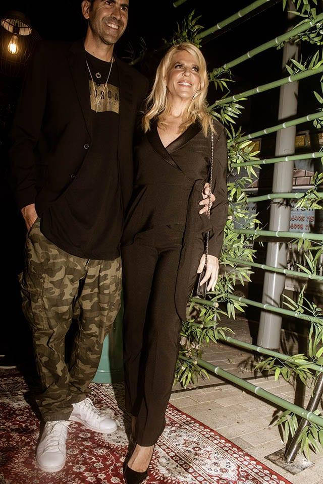 סנדרה רינגלר ומשה שגב. צילום: Morgan Jamie, חדשות האופנה