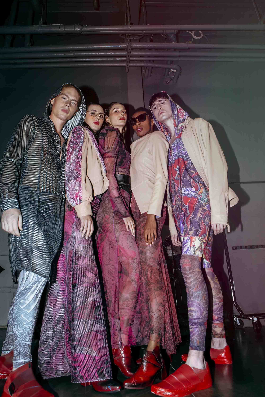 שבוע האופנה בניו יורק, nativ tattoo, נתיב יוחאי מאור , גלעד קבלרו - 2