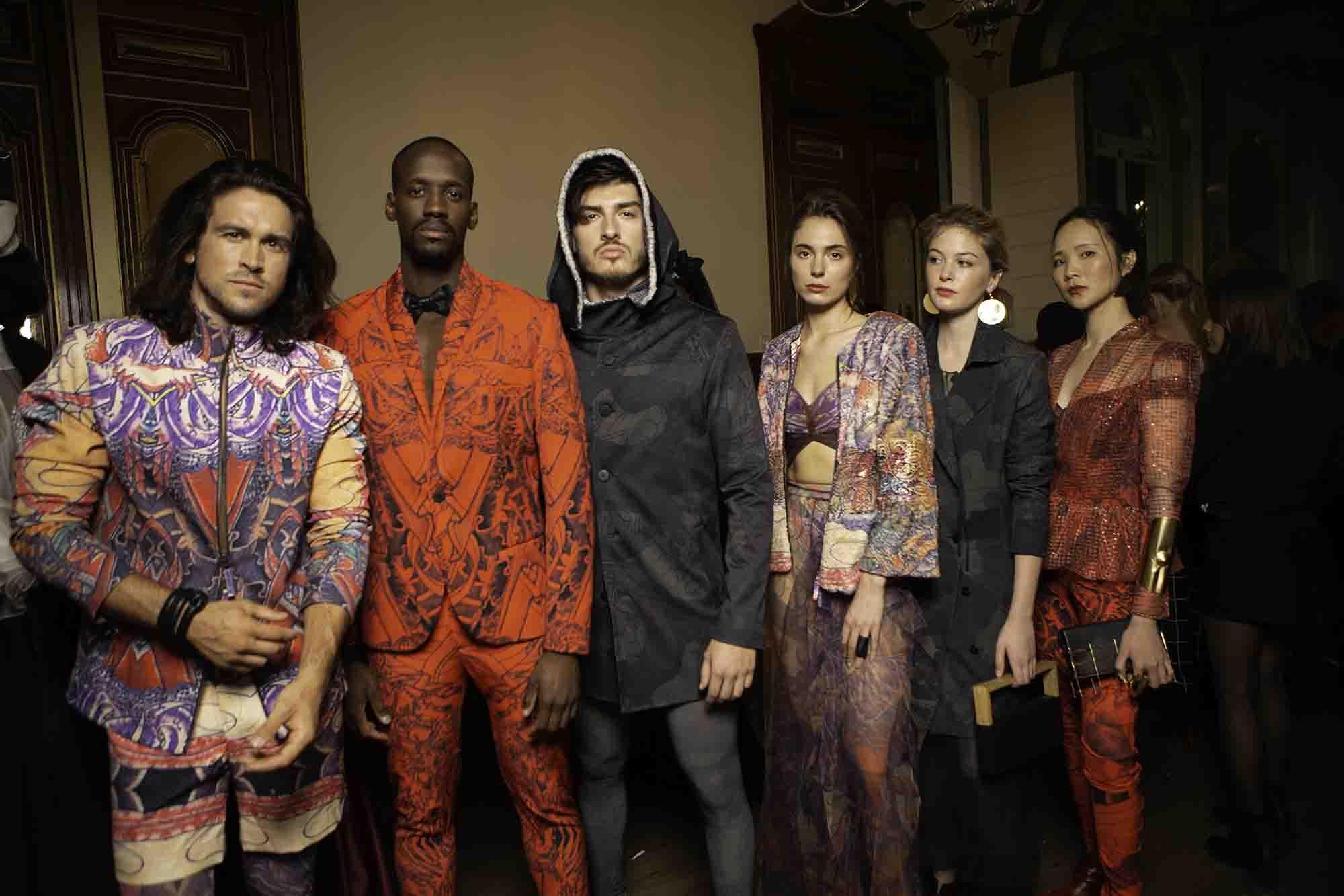 שבוע האופנה בפריז, nativ tattoo, נתיב יוחאי מאור , גלעד קבלרו - 4