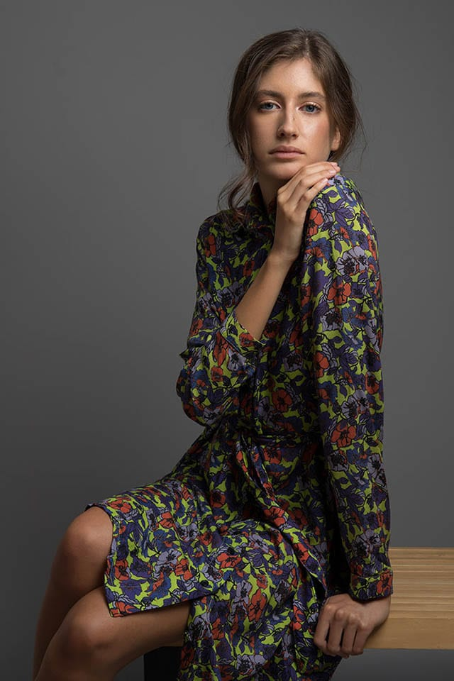 שירואטו, שמלת Acid Meadow ,צלם - אבנר נחמני (1)