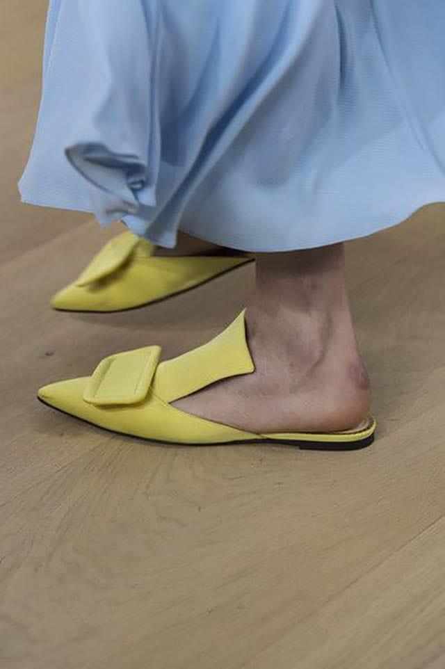 Emilia Wickstead at London Fashion Week Spring 2019